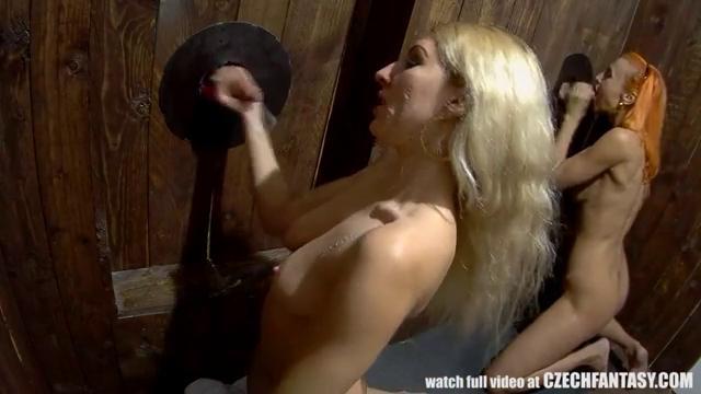 Через стену трахают женщины